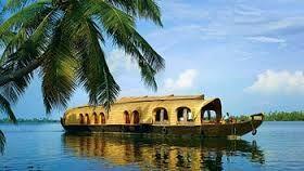 Back water view kumarkom in Kottayam, Kerala