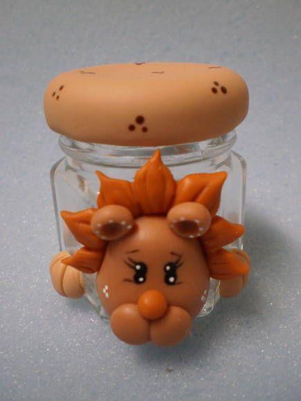 lion...great idea for jars!