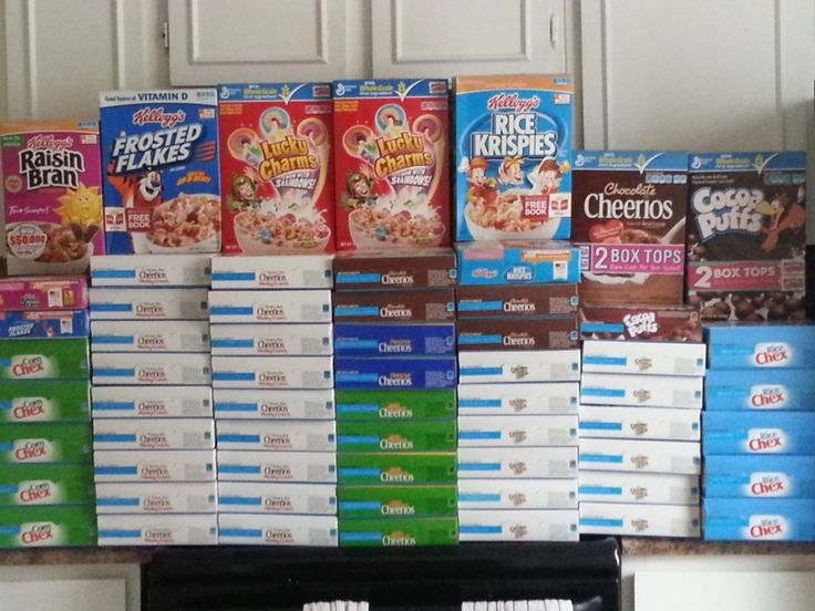 56  box Cereal Haul