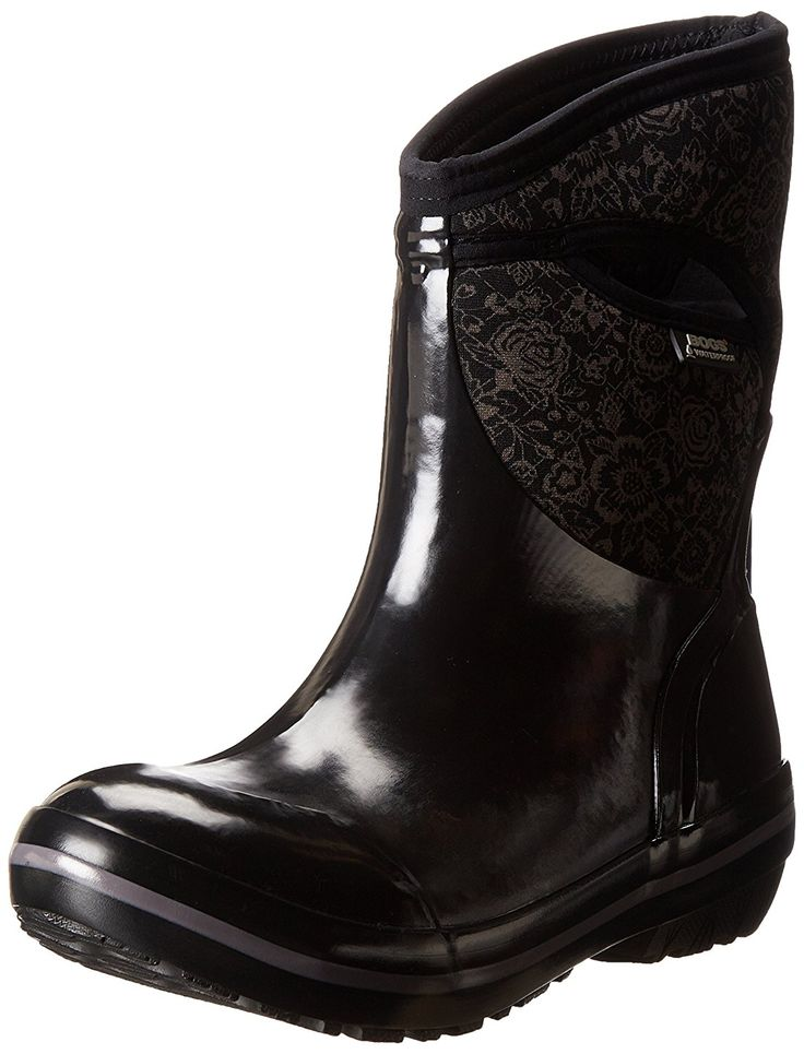 Bogs Women's Plimsoll Quilted Floral Mid Winter Snow Boot >>> Quickly view this special boots, click the image : Boots