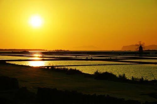#tramonto fra le #saline