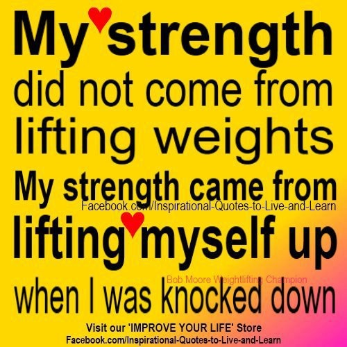 Discovering my inner strength