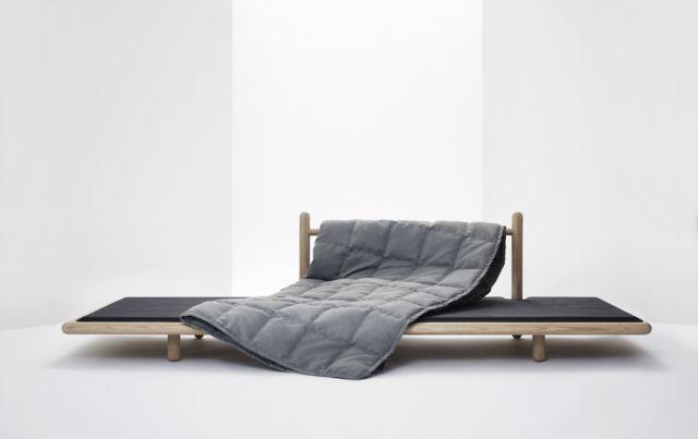 Chris Liljenberg Halstrøm, BEDDO (low daybed in oak with loose mattress and duvet), 2010 / Producer: Skagerak Denmark