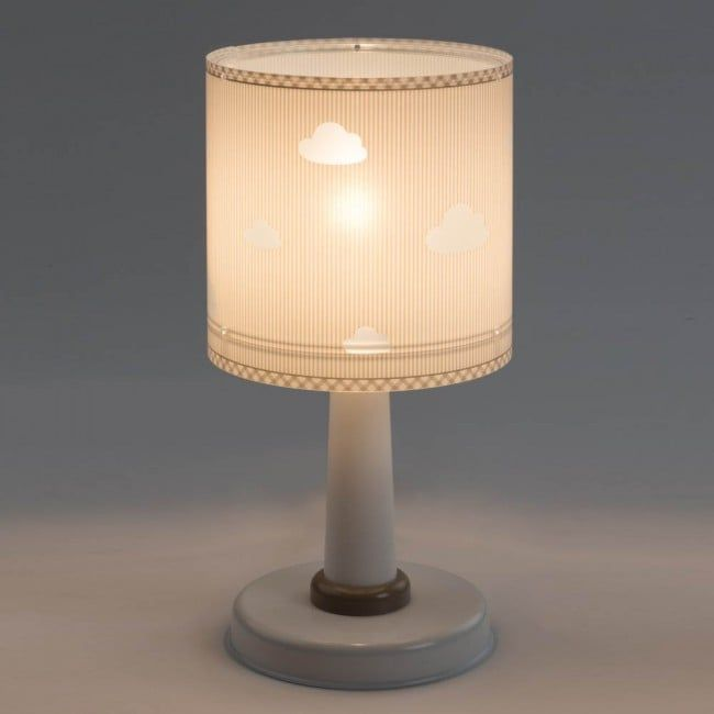 Sweet Dreams Grey Table Lamp By Dalber Made In Sunny Spain Lighting It Is Made Of Plastic In Order To Be As Safe As Possibl Lamp Table Lamp Kids Lampshades