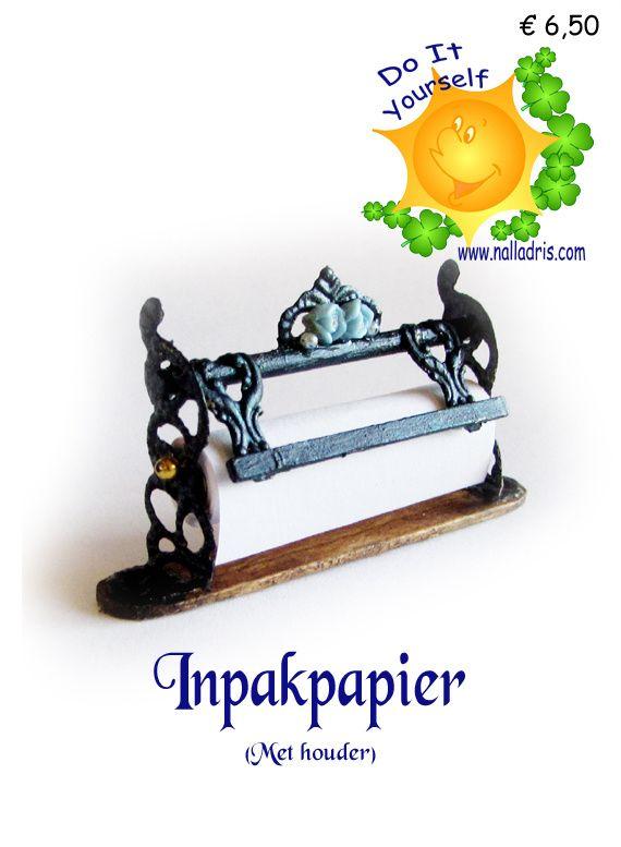 Workshop Inpakpapier (Met houder)