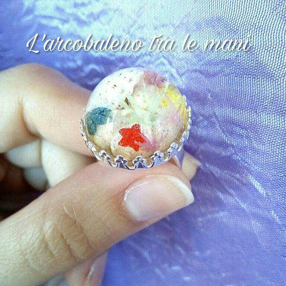 Guarda questo articolo nel mio negozio Etsy https://www.etsy.com/it/listing/512407394/anello-miniatura-reef-ring-miniature