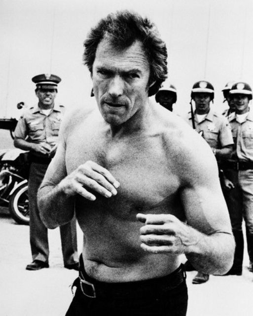 """We are like boxers, one never knows how much longer one has."" - Clint Eastwood 1978, Clint Eastwood in ""Every Which Way But Loose"" #"