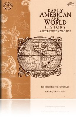 Early American & World History Study Guide - Beautiful Feet Books - says good for 9th grade so can be high school credit - will use Genevieve Foster books