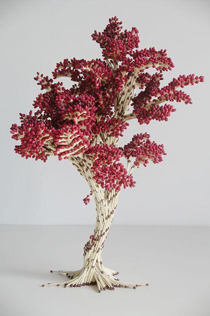 Matchstick Tree - Yvonne Carmichael