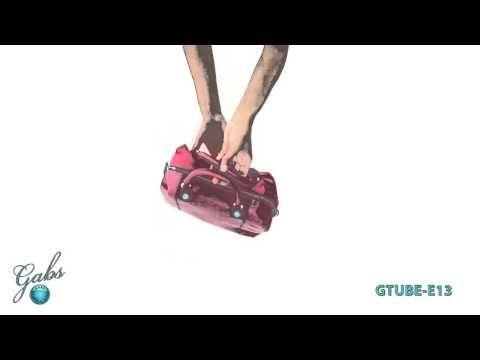 Gabs G-Tube– De tassen van het Italiaanse merk Gabs zijn multifunctioneel. Bekijk hoe je van 1 tas, verschillende modellen kunt maken. #multifunctioneel #gabs #handbag #bag #video