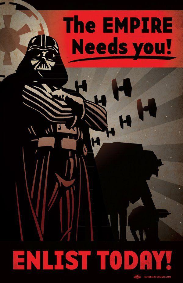Cumple con tu deber...el imperio te necesita!