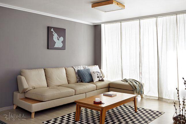 30평 거실 인테리어 LOOK BOOK : 네이버 매거진캐스트