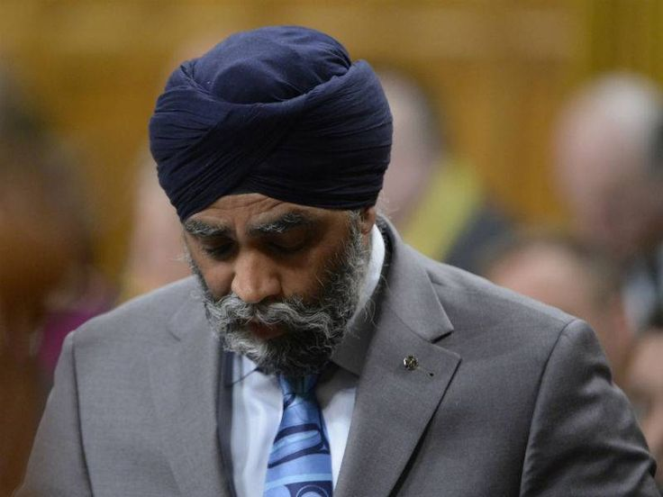 """Canada's opposition called for Indian-origin defense minister Harjit Sajjan to resign or be sacked for overstating his military record in Afghanistan during a speech in India. Sajjan erroneously claimed last month to have been the """"architect"""" of Canada's largest military operation since the 1950s."""