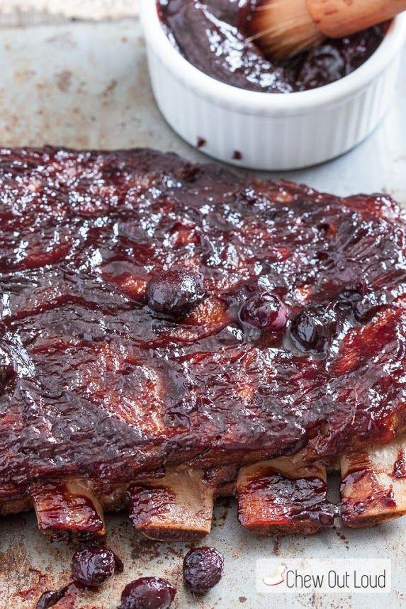 ... Food - Pork on Pinterest | Glazed pork, Blackberry sauce and Spicy