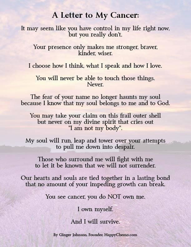 Losing My Mom To Cancer Quotes: Cancer Poem Follow Us On Twitter @Relay For Life Of
