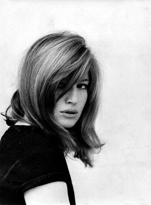 Female style icon. Monica Vitti.