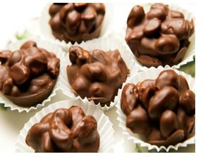 Σπιτικα σοκολατακια με καρυδι