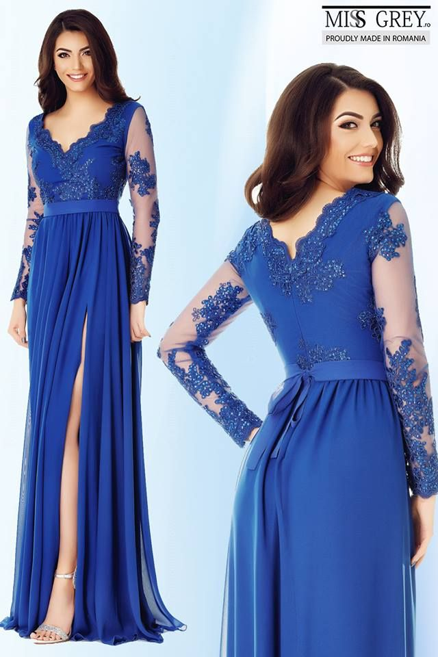 A modern woman is mysterious & elegant, sensual & chic. The blue Darma dress assures you an unforgettable appearance