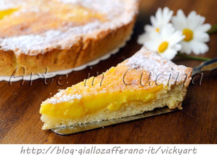 Custard+pie+crostata+con+crema+alla+vaniglia