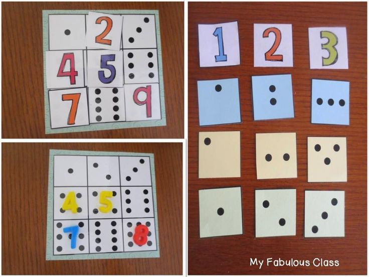 Freebie- Subitizing, number recognition, one to one