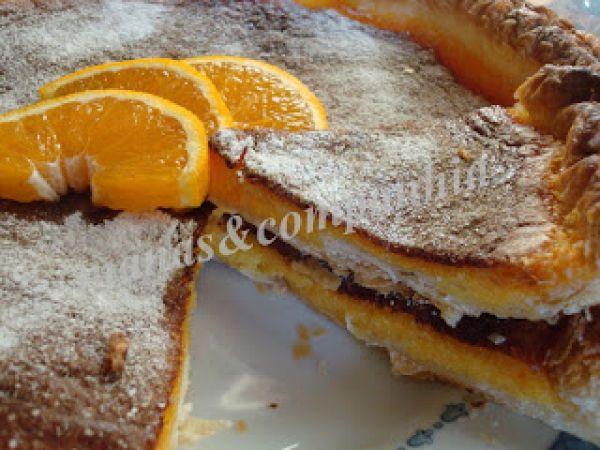 Tarte de laranja/cenoura divinal (ju)