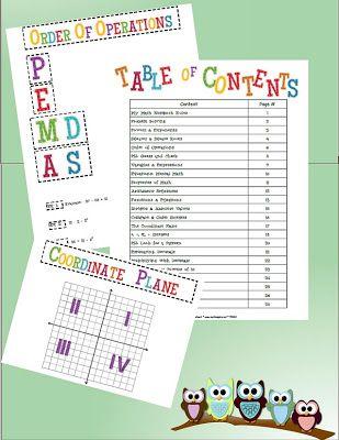 Math-n-spire - Interactive Math Notebook!