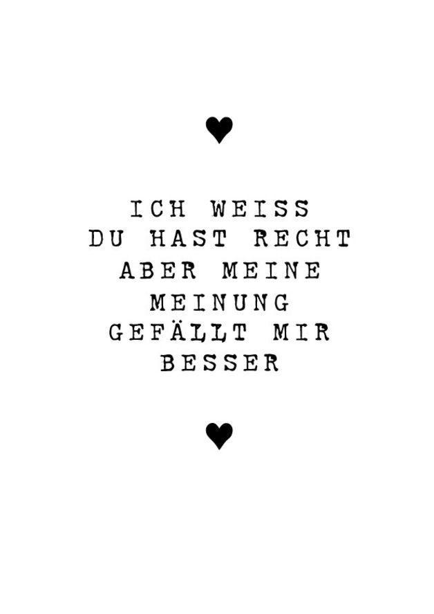 """Digitaldruck – Druck *Ich weiß Du hast Recht"""" Valentinstag – ein Designerstück von Pap-Seligkeiten bei DaWanda: – Tamara Möller"""