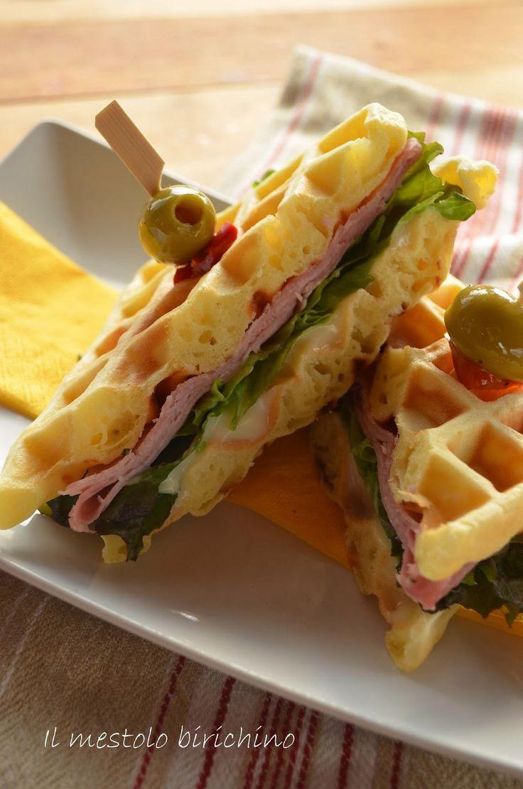 WAFFEL O SANDWICH ...salati