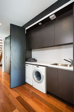 Williamstown Townhouse Project - modern - Laundry Room - Melbourne - Urban Kitchens