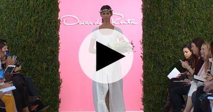 Brides: Watch Oscar de la Renta's Spring 2015 Bridal Runway Show