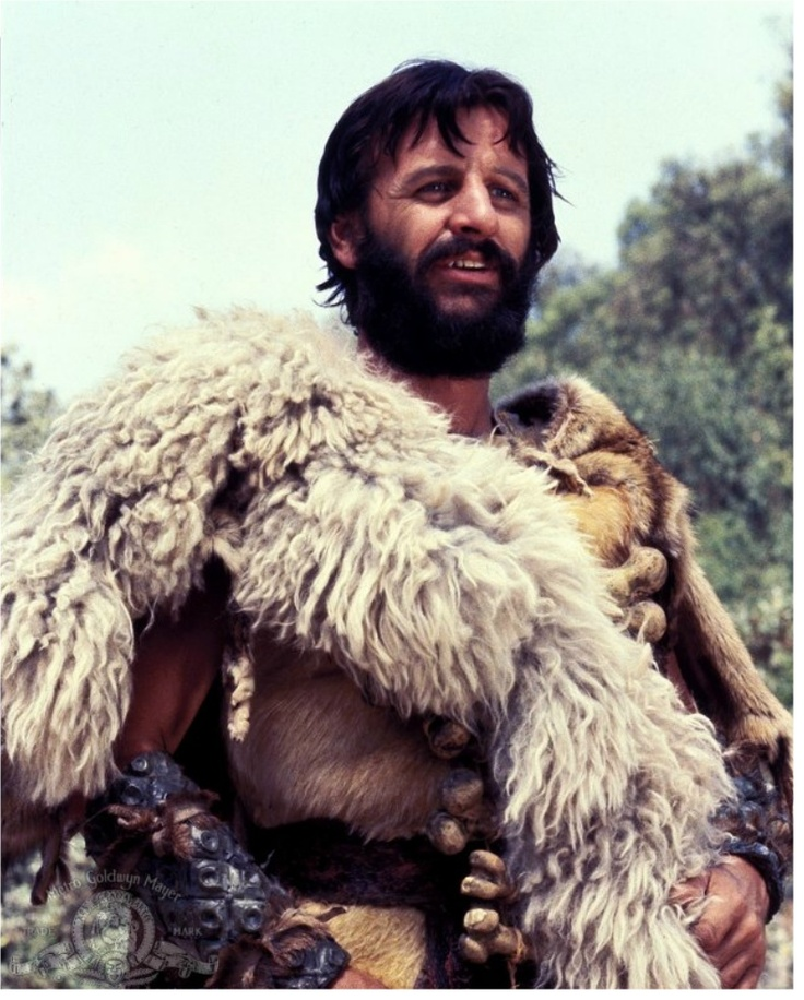 Ringo Starr in Caveman//fun special effects a la 1950s Japanese sci fi. Pterodactyl egg omelette not to be missed.