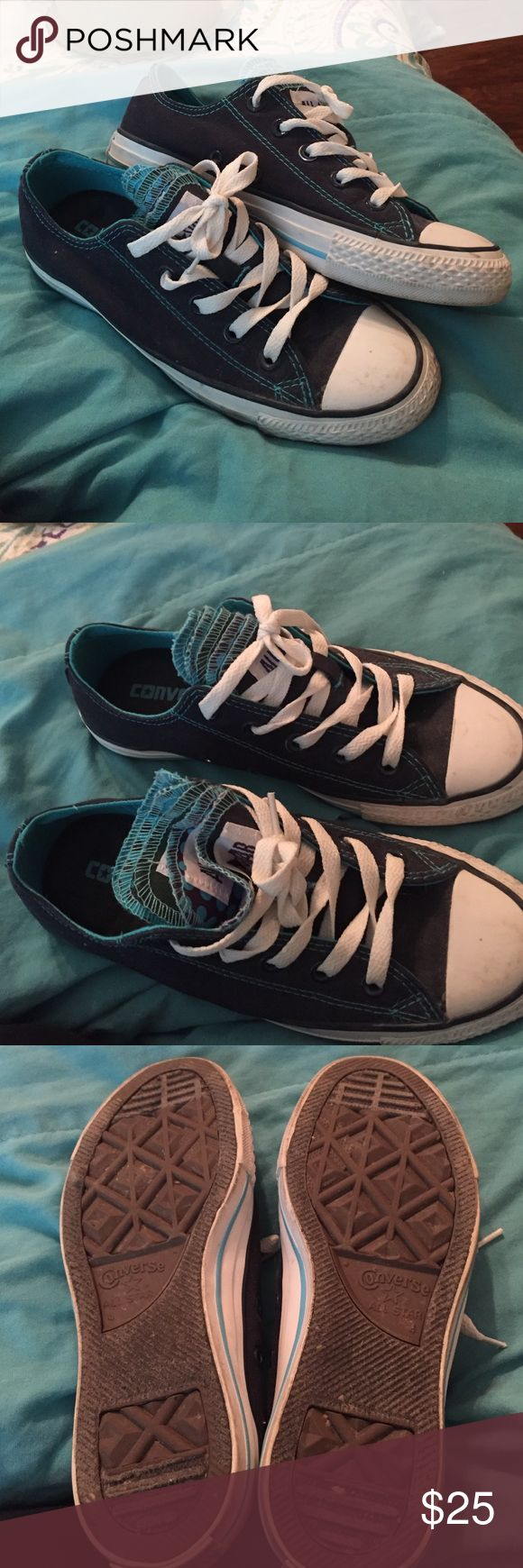 Ladies Converse Worn a few times, great condition Converse Shoes Sneakers