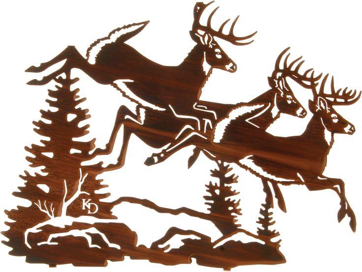 Deer Wall Art 24 best deer wall art images on pinterest | metal walls, metal