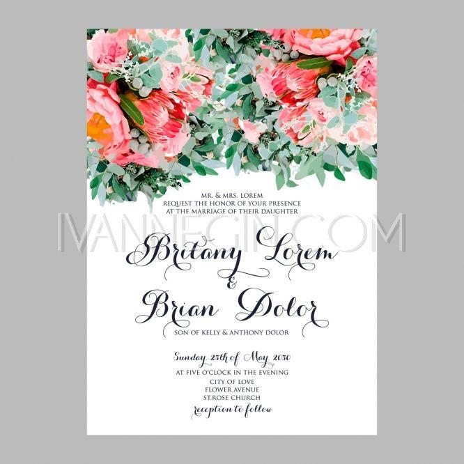 681 best Wedding invitation images on Pinterest