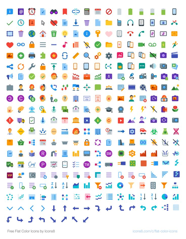 Icons8, 302 플랫(Flat) 컬러 아이콘 세트 무료 배포 :: 디자인 로그(DESIGN LOG)