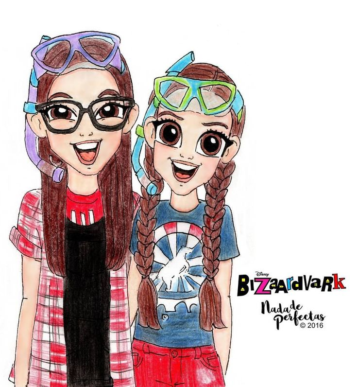 Bizaardvark, Bizaardvark, Bizaardvark!  My drawing for this amazing girls @olivia.rodrigo and @madison_hu of Disney Channel #Bizaardvark! Love this show!  Thank you Olivia for follow me some time ago, I feel so honored and so happy!  Love you!...