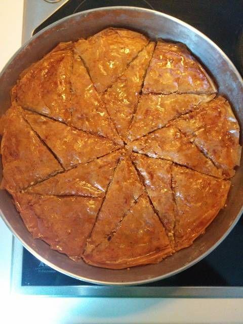 #Μπακλαβάς τεμπέλικος και απολαυστικός #cookpadgreece
