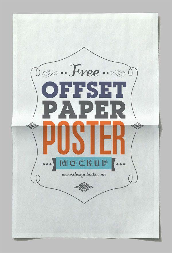 Free-Offset-Paper-Poster-Mockup-PSD