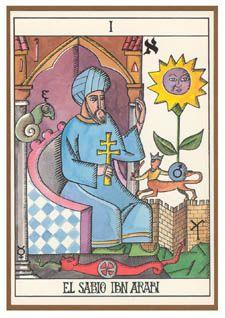 Ibn 'Arabi  (The Magician) - El Tarot Murciano