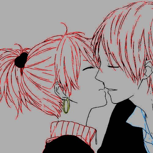 #animecouple #kiss #ToukoWhiteGraphic #Coloredbyme  Ita: Se la prendi, mettere i crediti.. grazie.  Eng: If you take it, put the credits.. thanks.