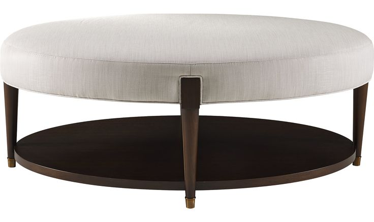 Ondine Oval Cocktail Bench by Barbara Barry - 3690 | Baker Furniture