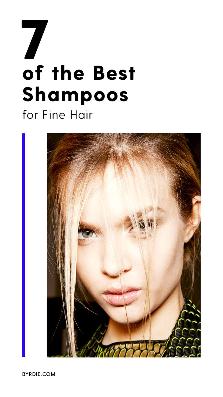 The best shampoos for fine hair