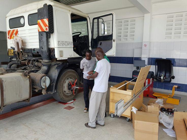 Truck Alignment Training  Kenya