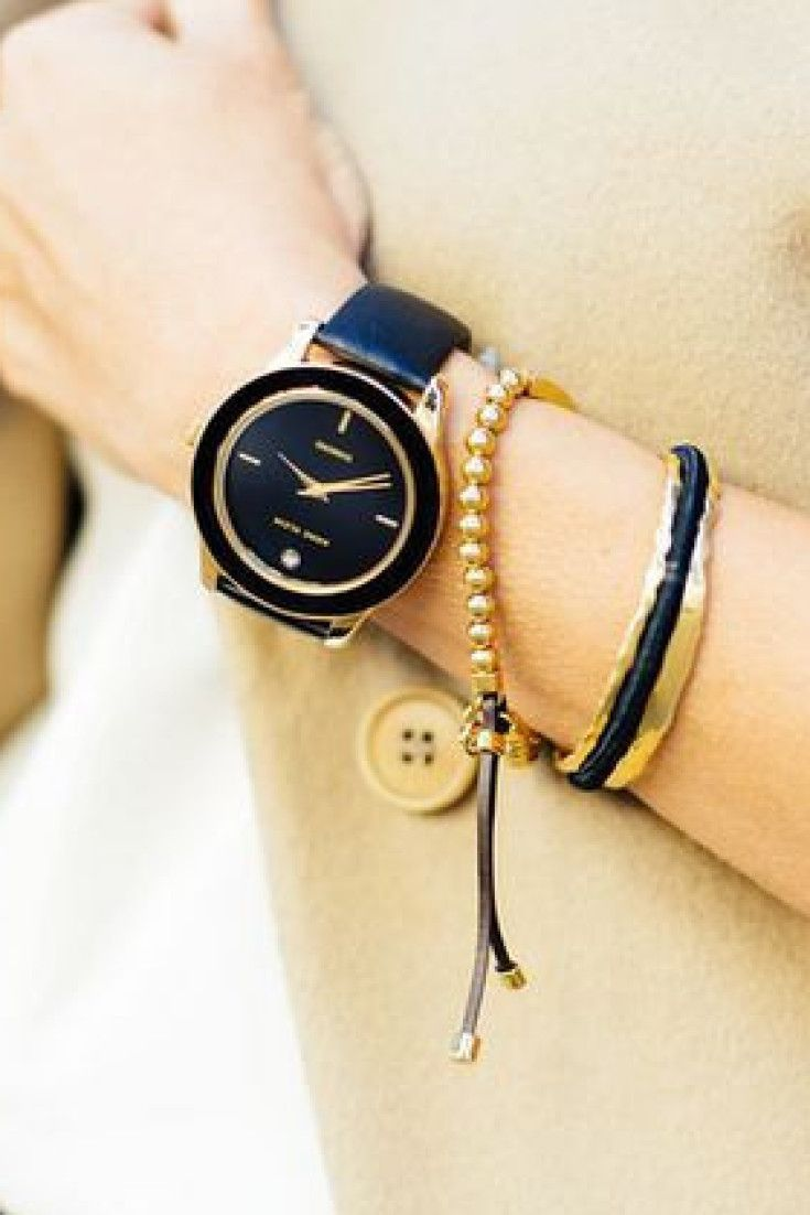 If you're tired of wearing elastic hair ties around your wrist, this chic bracelet is about to solve your problems forever
