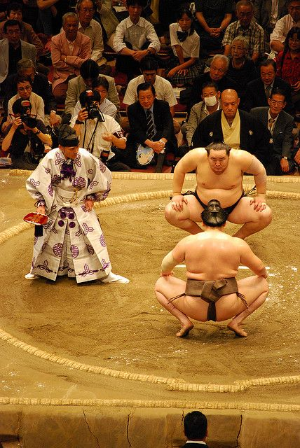 sumo  My brother and I were fascinated by the Sumo wrestlers when we lived in Okinawa in the early 60's!  It was an amazing 3 years in an awesome culture.  We learned so much.  Thank you Keiko and your amazing family!