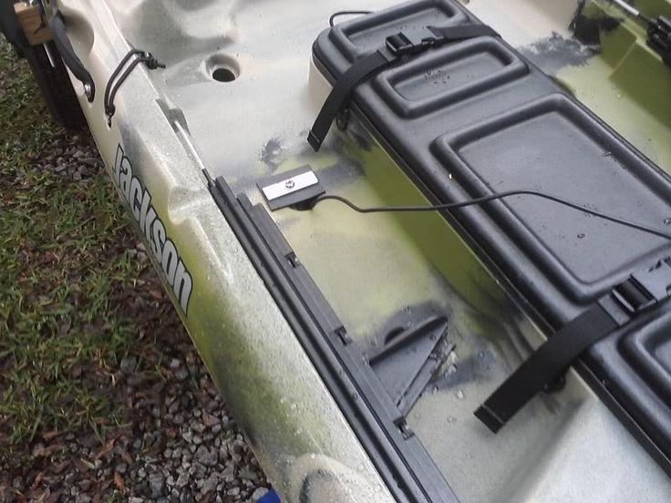 Kayak Fishing Forum :: Topic: DIY Scupper Transducer Mount - Jackson Kayak Cuda (1/1)