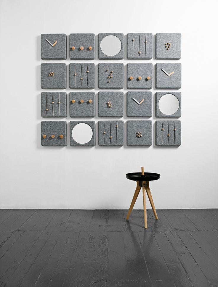 Felt Panel Coat Hanger MENU AS