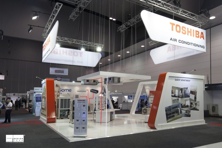 TOSHIBA @ ARBS   Having previously exhibited as part of the AHI Carrier stand Toshiba now requires their own stand with the aim of attracting their preferred target audience.