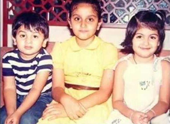 Ranbir Kapoor, Kareena Kapoor childhood Pics