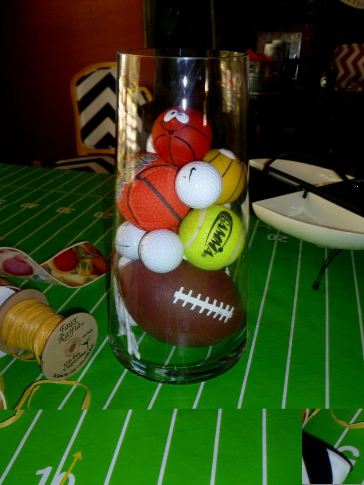 1000+ Ideas About Sports Themed Centerpieces On Pinterest